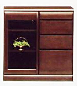 【送料無料】リビング収納 小物収納 書棚 食器棚本棚 ブックシェルフ ブックボード 食器収納サイドボード キャビネット コレクションボードシンビジューム80サイドボード
