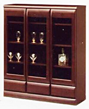 【送料無料】リビング収納 小物収納 書棚 食器棚本棚 ブックシェルフ ブックボード 食器収納サイドボード キャビネット コレクションボードシンビジューム90ハイサイド
