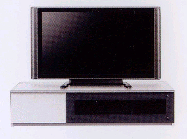 テレビ台 幅120cm ~40型テレビ対応 安全 ゆっくり開くスローダウンステー付き フラップ扉 5mm厚強化ガラス使用 頑丈な箱組み引き出しフルオープンスライドレール仕様 北欧風モダン AVローボード テレビボード TV台 白 ホワイト