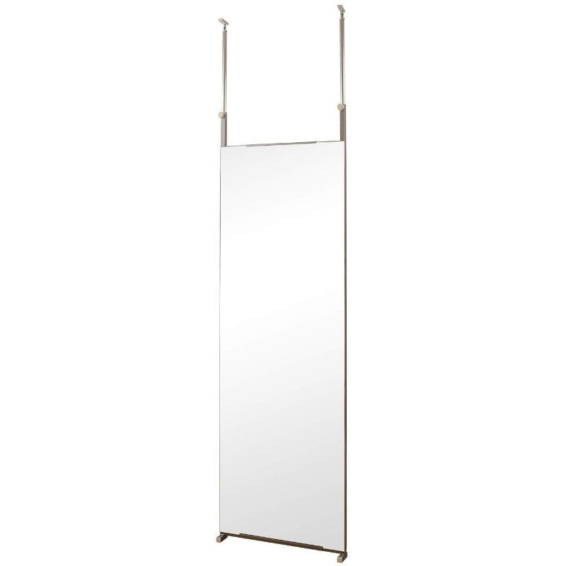 鏡 全身 大型ミラー ダンス 壁面ミラー 枠なし 60センチ幅 姿見鏡 全身鏡 突っ張り式