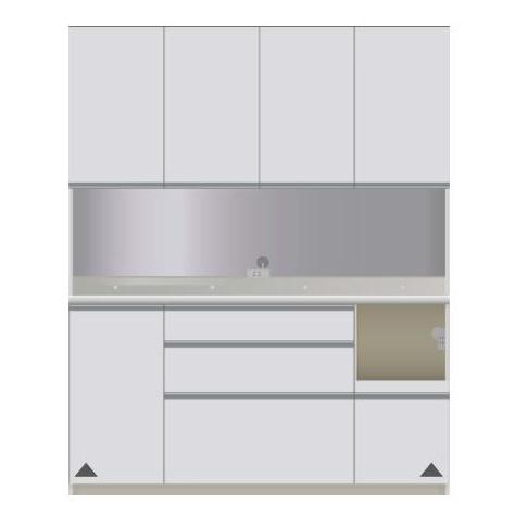 パモウナ 食器棚 開梱設置 CIR-S1600R キッチン収納 パモウナ 食器棚 キッチンボード 開き扉 送料無料