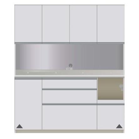 【パモウナ 食器棚】 開梱設置 DIR-S1600R キッチン収納 食器棚 パモウナ食器棚 キッチンボード 開き扉 送料無料