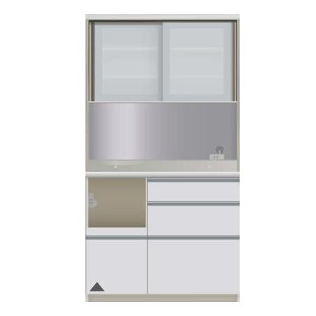 【パモウナ 食器棚】 開梱設置 JIL-1000R キッチン収納 食器棚 キッチンボード 送料無料