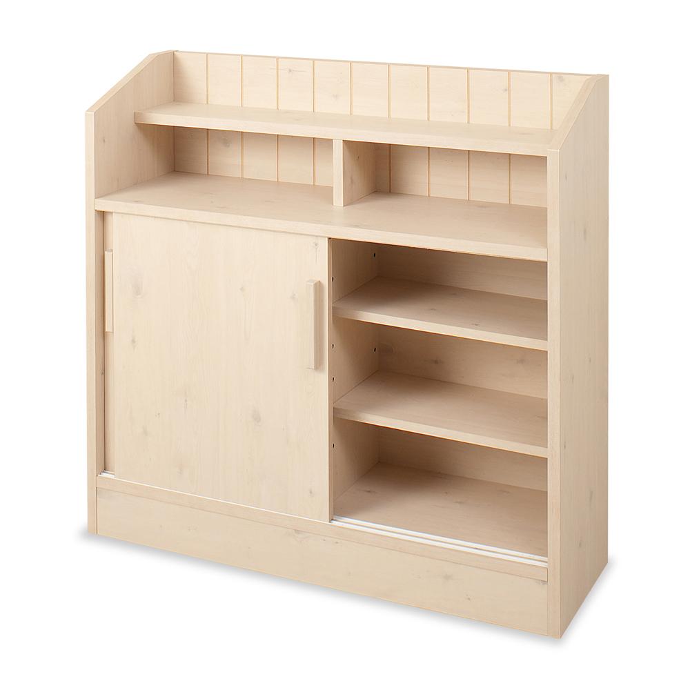 キッチン・リビング収納   カウンタ-下引戸キャビネット 90.5cm 幅   NO-0023