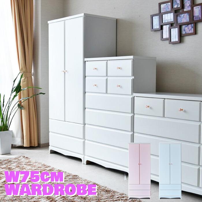 Wardrobe Closet Completed Domestic White Modern Wood Sturdy Long Lasting  Hanger Rack Storage Hanger Storage