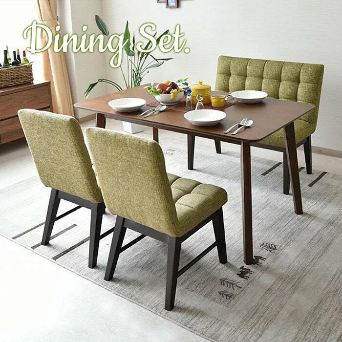 679c5dbfdb Dining table set 4-piece set width 130 cm four-seat dining table Nordic  modern dining 4-piece set wood compact 4 color for dining tables Dining  chairs ...