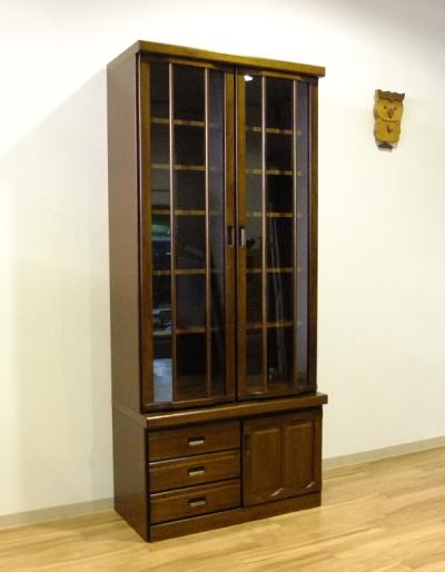【送料無料】スタンダードでロングランの定番商品本棚ブックシェルフ・フリーボード90cm国産・日本製・出窓加工