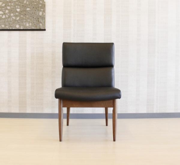 天然木ホワイトオーク無垢材フレームPVCソフトレザーナラ材のダイニングチェアー食卓椅子・単品販売・木製ブラック・ホワイト木部塗装ナチュラル・ブラウン色