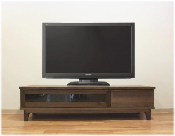 シンプル・モダンデザイン・ウォールナットorハードメープルお買得な国産・日本製テレビボード3サイズあります自然塗装オイル仕上・天然木無垢材・突き板・脚付き