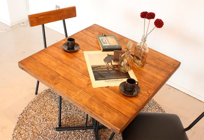 送料込 テーブル 机 カフェテーブル カフェ 癒し シンプル 木 木材 家族 憩い 団らん 団欒 ほっこり ゆったり【テーブルのみ販売】