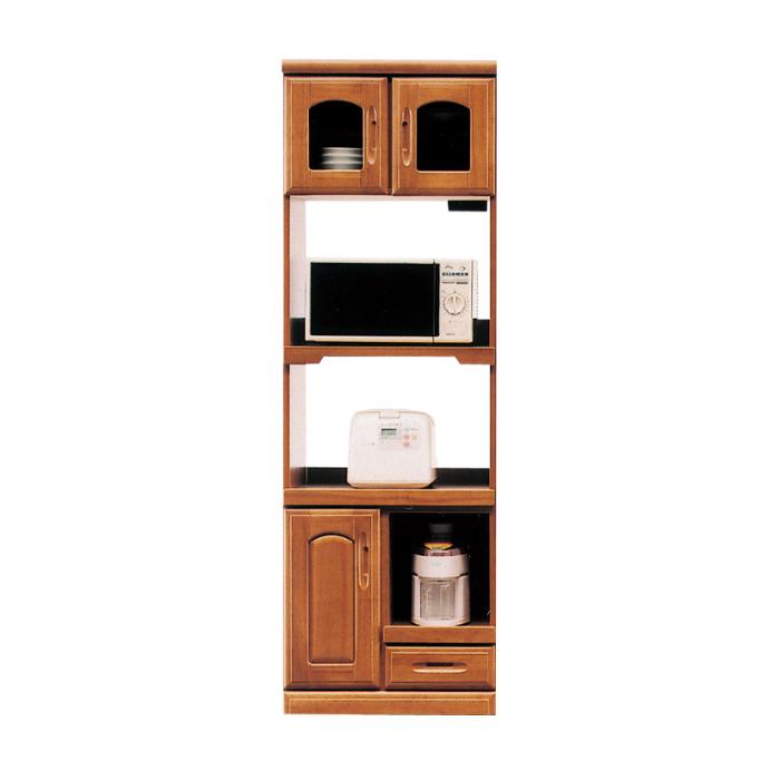 開梱設置配送 キッチンボード 幅60 キッチン収納 食器棚 キッチン 収納 木製 日本製 国産 大川家具 60収納レンジ1型