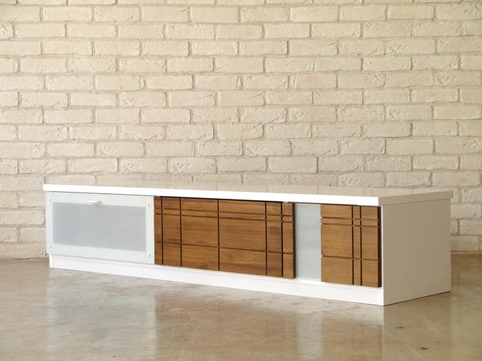 ローボード 幅155 おしゃれ 北欧 モダン 北欧モダン テレビ台 テレビボード 木製 家具 かっこいい 日本製 国産 大川家具