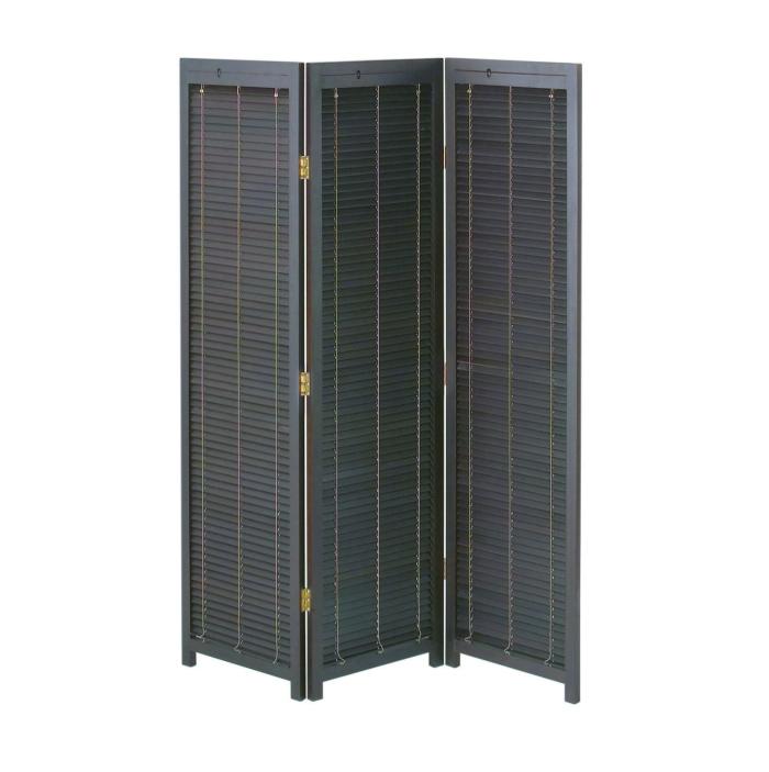 衝立 3連 高さ172 高さ1720mm ブラインド パーテーション パーティション スクリーン 間仕切り 開閉式 木製 天然木 簡単組立 リビング キッチン 玄関 エントランス オフィス 店舗 コンパクト