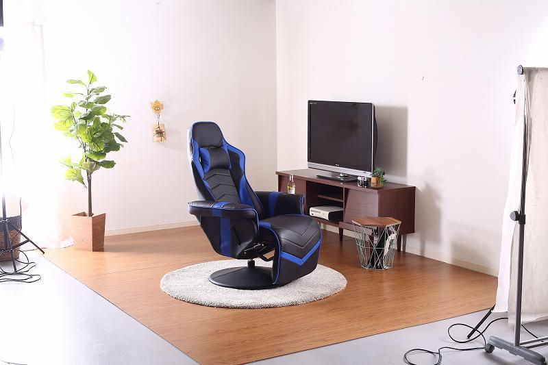 ゲーミングチェア ゲーム用チェア パーソナルチェア ゲーム特化チェア 椅子 イス ゲーミングパーソナルチェア カーナ【代引不可】