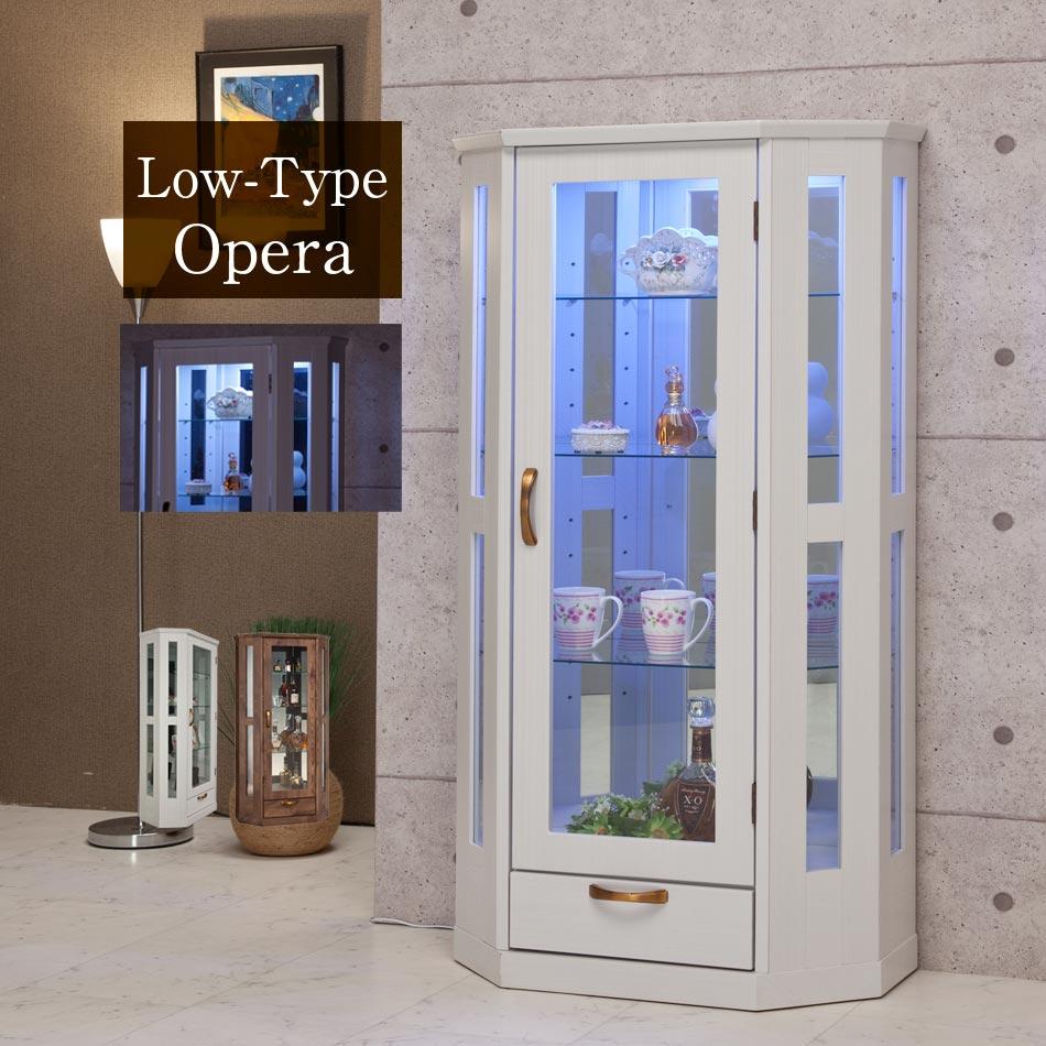 コレクションボード サイドボード オリジナル 食器棚 木製 ロータイプ 収納 家具 インテリア リビング収納 ディスプレイラック LED ライト