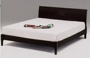 【スーパーSALE限定10%OFF】ワイドダブルベッド すのこベッド ベッドフレーム ウエンジ/フレーム ワイドダブル シンプルデザイン