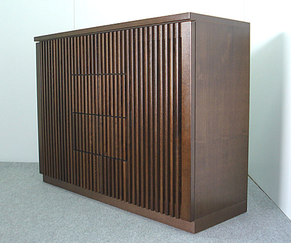 サイドボード リビング収納 収納家具 幅120cm 収納棚 整理棚 飾り棚 ブラウン