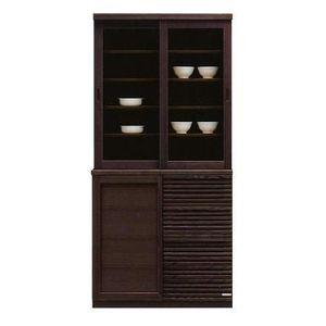 値頃 レンジボード レンジ台 レンジボード 食器棚 食器棚 キッチン収納 幅90cm ブラウン 木製 ブラウン, goodyone:0fd1940d --- construart30.dominiotemporario.com