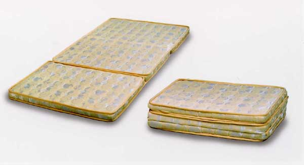 パーム 三つ折マットレス セミシングルマットレス/【寝具】 【モダン】 シンプルデザイン