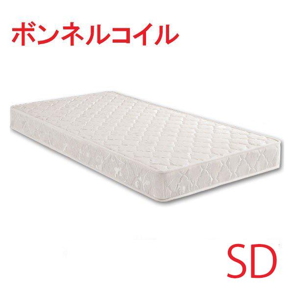 マットレス ボンネルコイル セミダブルサイズ ベッド セミダブルベッド用