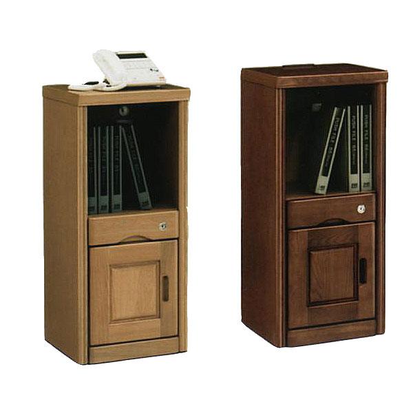 電話台 TEL台 扉 幅36cm 鍵付き スライド コンセント付き 収納棚 リビング収納 収納家具