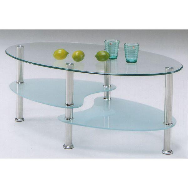 テーブル ガラステーブル 100cm センターテーブル ローテーブル