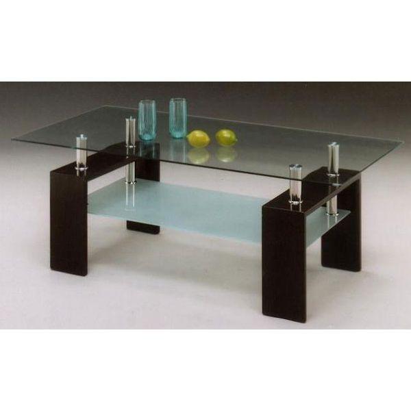 テーブル ガラステーブル 幅120cm センターテーブル ローテーブル
