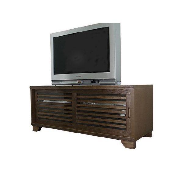 【スーパーSALE限定10%OFF】テレビボード TVボード テレビ台 和風 和室 幅120cm ライトブラウン 送料無料