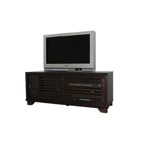 テレビボード TVボード テレビ台 和風 和室 幅120cm ブラウン 送料無料