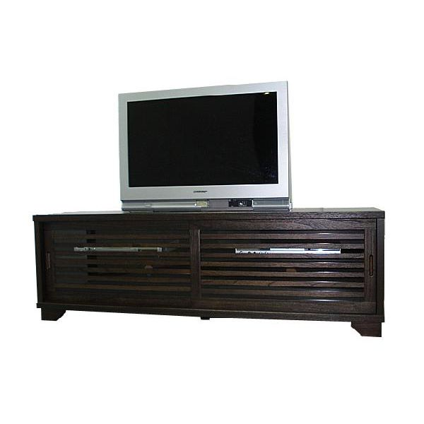 【スーパーSALE限定10%OFF】テレビボード TVボード テレビ台 和風 和室 幅150cm ブラウン 送料無料