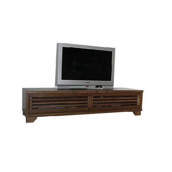 【スーパーSALE限定10%OFF】ローボード テレビ台 テレビボード ロータイプ TVボード 和風 和室 幅150cm ライトブラウン 送料無料