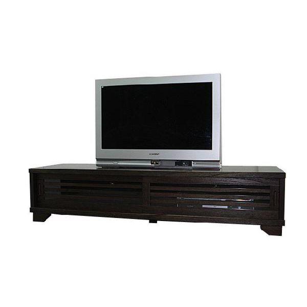 【スーパーSALE限定10%OFF】ローボード テレビ台 テレビボード ロータイプ TVボード 和風 和室 幅150cm ブラウン 送料無料