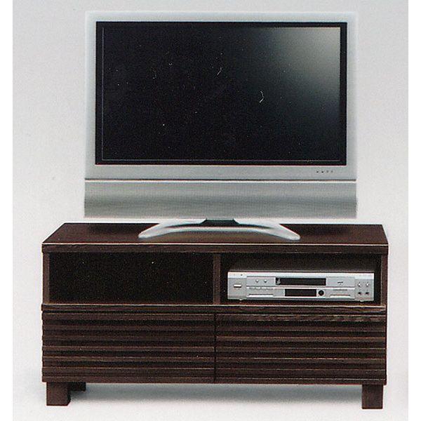 テレビ台 テレビボード 幅100cm TVボード AV収納 引き出し ブラウン ローボード 送料無料
