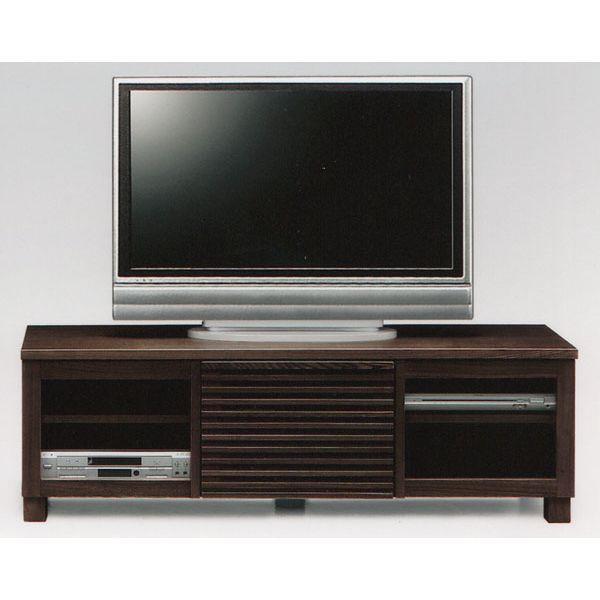 スーパーSALE限定【10%OFF】テレビ台 テレビボード 幅150cm キャビネット 開き戸 TVボード AV収納 ブラウン ローボード