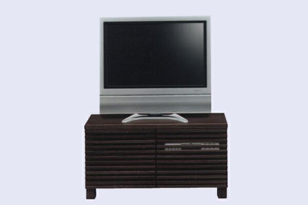 テレビ台 テレビボード 幅100cm キャビネット 引出し TVボード AV収納 ブラウン ローボード