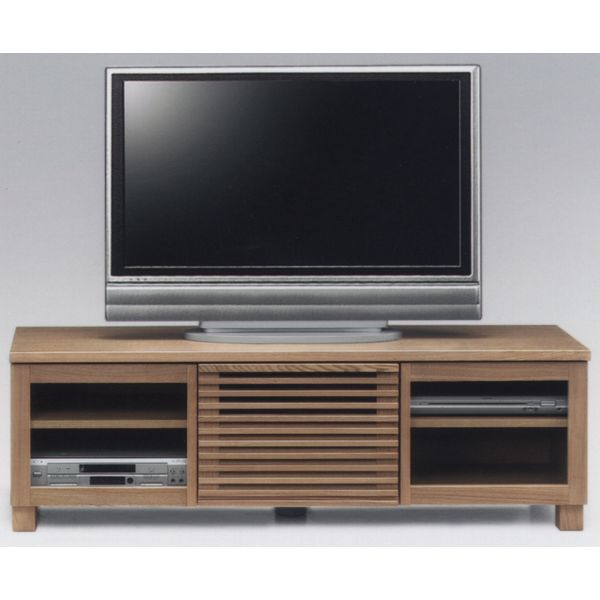 テレビ台 テレビボード 幅150cm キャビネット 開き戸 ナチュラル TVボード AV収納 ロータイプ