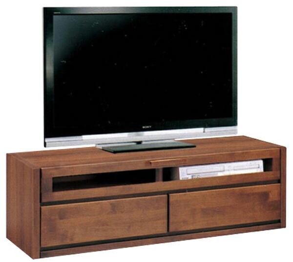 スーパーSALE限定【10%OFF】テレビ台 送料無料 TVボード テレビボード 幅120cm ダークブラウン ナチュラル 2色対応 AV収納 AVボード 木製