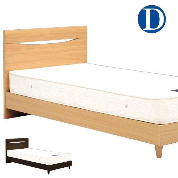 ベッド ダブルベッド ロータイプ ベッドフレーム 北欧モダン