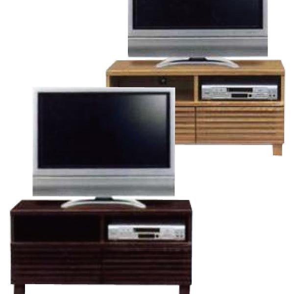 テレビ台 テレビボード TV台 完成品 送料込 アウトレット価格 ローボード タモ 木製 山月オープンテレビボード100 ナチュラル/ブラウン コーナーボード 送料込み