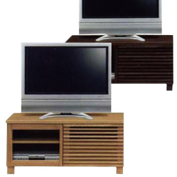 テレビ台 テレビボード TV台 完成品 アウトレット価格 ローボード タモ 木製 山月テレビボード100開き戸タイプ ナチュラル/ブラウン