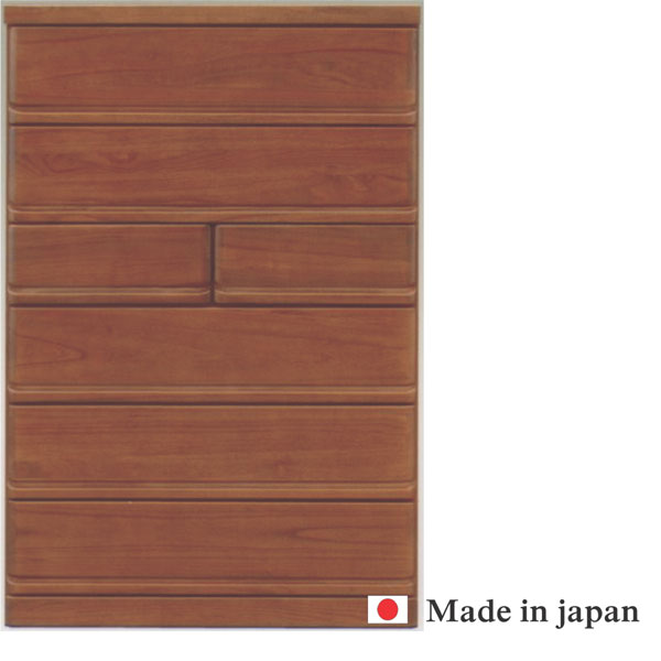 チェスト 完成品 ハイチェスト タンス 衣類収納 幅90cm 日本製 桐 整理たんす (開梱設置無料)