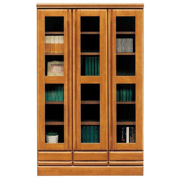 本棚 完成品 書棚 キャビネット 幅90cm