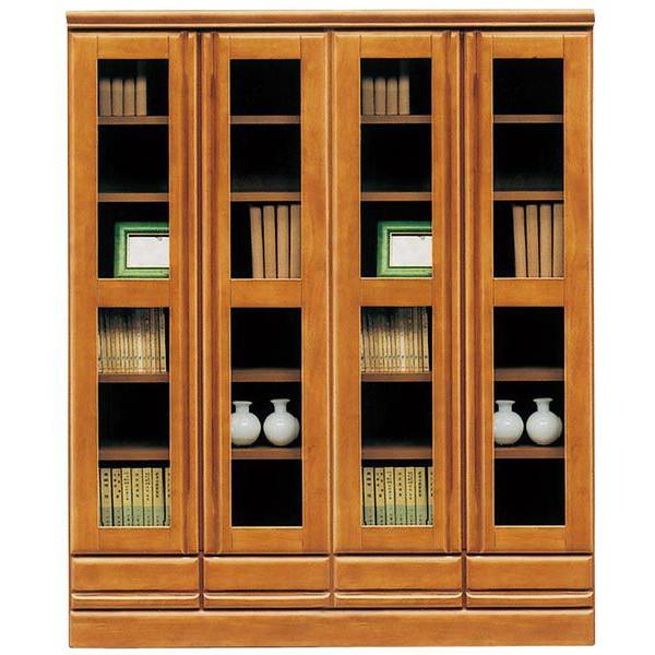 本棚 完成品 書棚 幅120cm (開梱設置無料)
