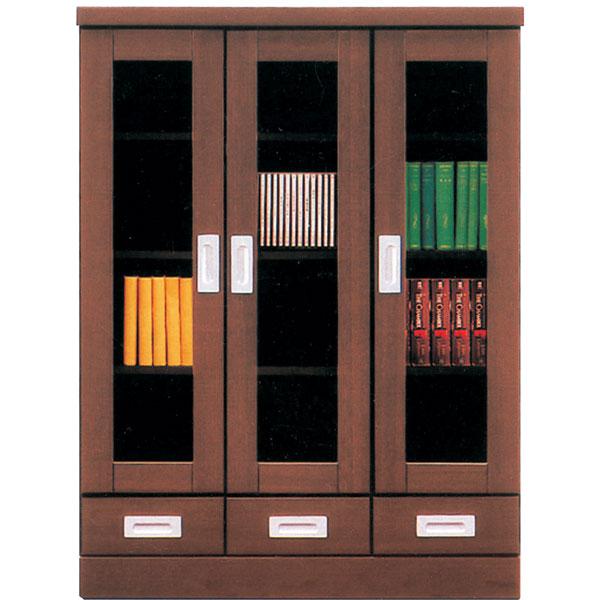 本棚 書棚 キャビネット 飾り棚 ブックシェルフ 木製 幅90cm フリーボード 送料無料
