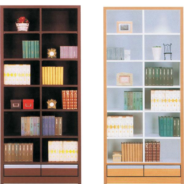本棚 書棚 キャビネット 飾り棚 ブックシェルフ 木製 幅83 フリーボード 送料無料