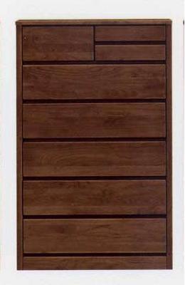 ハイチェスト チェスト たんす 整理ダンス 収納家具 アルダー材 木製 ティアラ 80cm-6段ハイチェスト 日本製 大川家具 人気
