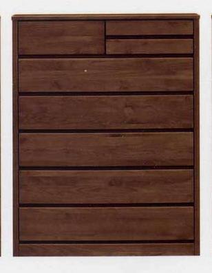 ハイチェスト チェスト タンス 6段 100cm アルダー材使用 完成品 北欧 おしゃれ 木製 大川家具 開梱設置無料【送料無料】