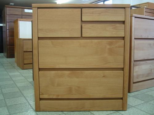 ローチェスト 幅60 木製 チェスト 北欧モダン 整理タンス 収納家具 ティアラ 60-3 ローチェスト