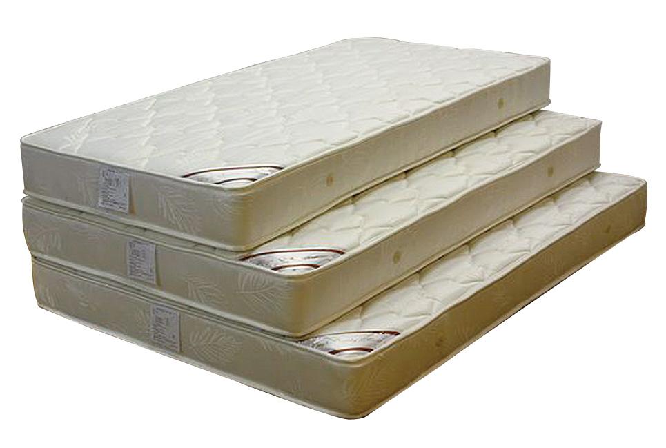 セミダブルベッド セミダブルマットレス ジャガード生地 高品質 ボンネルスプリング シンプル 送料無料