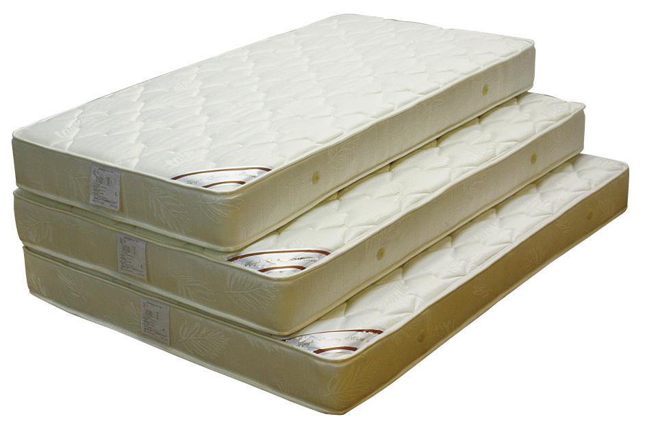 ダブルベッド ダブルマットレス ジャガード生地 高品質 ボンネルスプリング シンプル 送料無料